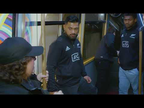 All Blacks on guided tour of Wellington