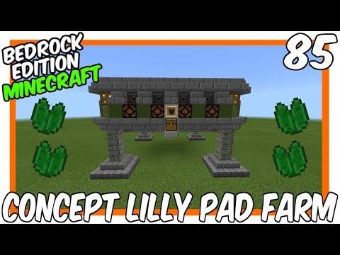 Concept Lilly Pad Farm Bedrock Edition