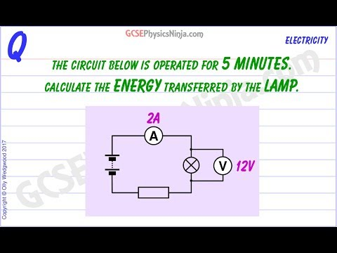 Electrical Energy Calculations - Physics Tutorial