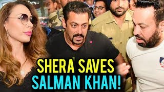 Salman Khan Gets Mobbed By Fans At Jaipur Airport, Bodyguard Shera Comes To Rescue