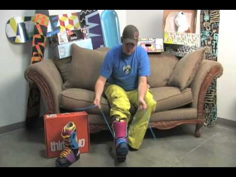 Traditional Lacing System - ThirtyTwo Boots