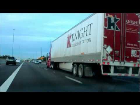 Knight Transportation Owner Operator on I-17 in Phoenix, Arizona