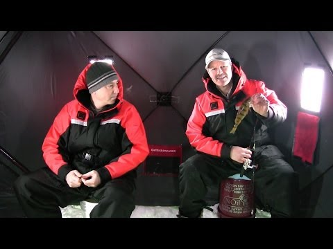 Ice Fishing for Panfish - How to Catch Bluegills and Perch Through the Winter Ice