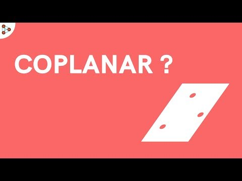 What are Coplanar Points and Lines?