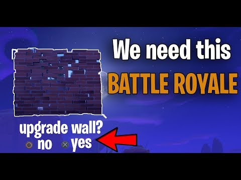 WE NEED THIS IN BATTLE ROYALE!! (Fortnite STW Feature)