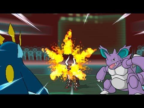 Pokemon X & Y WiFi UU Battle #27 vs. PheonixMaster1 - Nidoking op Imh0