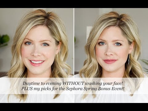 A Daytime to Evening Makeup Tutorial + info about the Sephora Spring Bonus Event!!!