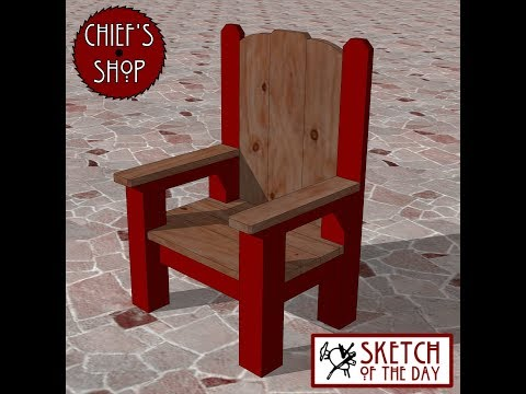 Chief's Shop Sketch of the Day: Head Chair