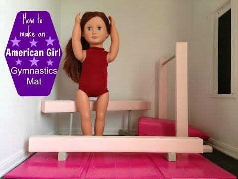 DIY American Girl Doll Gymnastics Mat