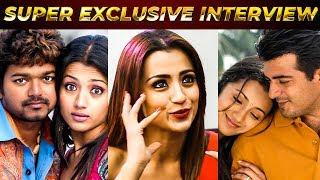 Vijay 20% and Ajith 80% | Trisha Rates | NPA 01