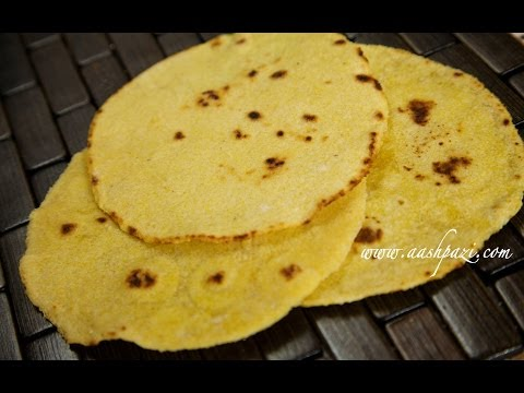 Corn Tortilla Recipe (Cornmeal)