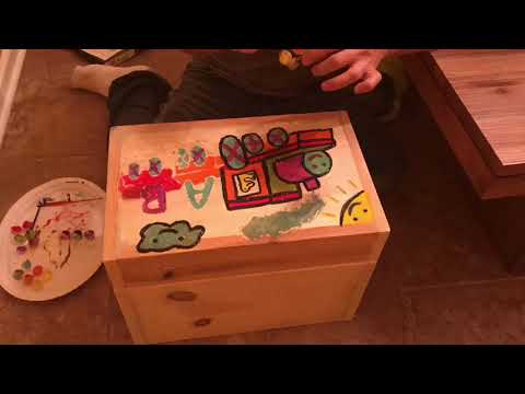 DIY How To Build A Homemade Toy Box
