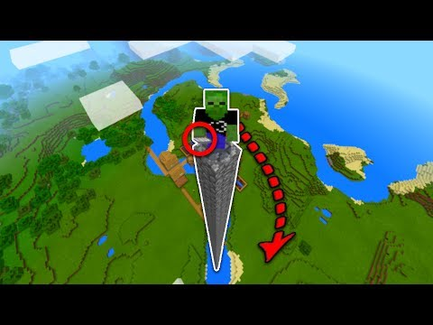 Do NOT FALL in Minecraft Pocket Edition without this... (Realms Recording)