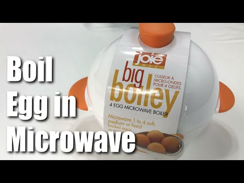 How to hard boil eggs in the microwave oven