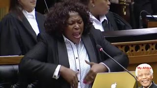 The Drama Queen - ANC Honorable TZM Khoza, Youth Day Debate.