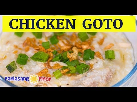Chicken Congee Goto