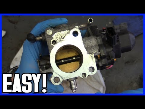 How to Service Throttle Body Housing Toyota Prius 2004-2009 FIX Code P1121
