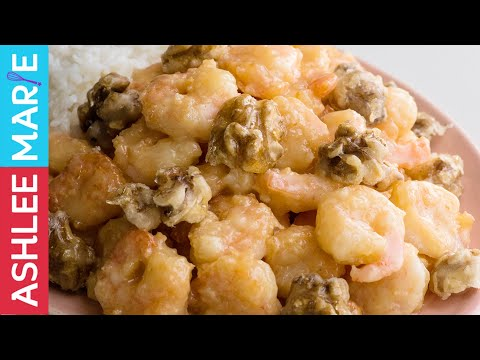 Honey Walnut Shrimp Recipe - Fast Easy Chinese food