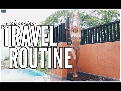 My Pre-Travel Routine | GYST WITH ME