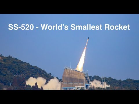 The Smallest Rocket - The SS-520-5