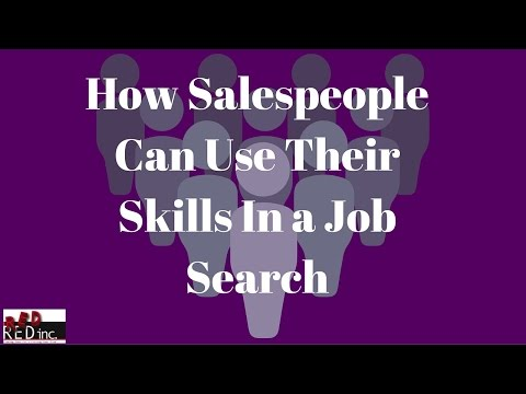 Job Search Tips: Salespeople Must Leverage Their HUGE Advantage