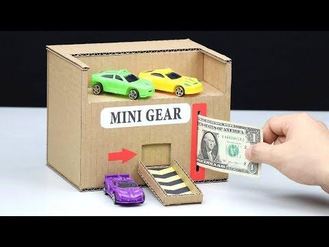 Wow! Amazing DIY Toy Car Vending Machine with Money