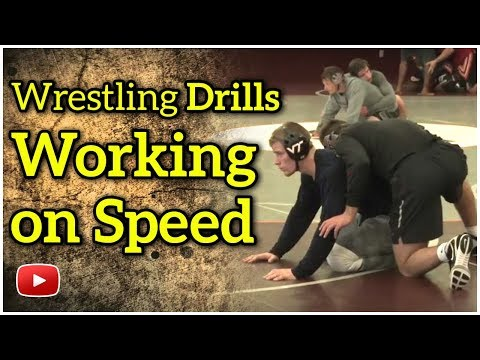 Wrestling Skills and Drills - Working on speed - Coach Kevin Dresser