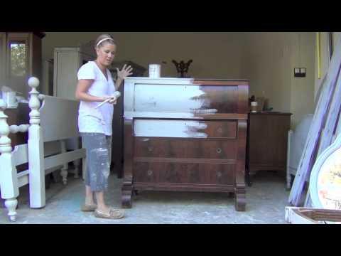 Blue Egg Brown Nest Annie Sloan Chalk Paint Tutorial #1