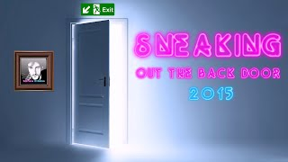 STEFANO ERCOLINO SNEAKING OUT THE BACK DOOR 2015 (Cover)
