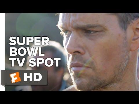 Jason Bourne Official Super Bowl TV Spot 2016 - Matt Damon Movie HD