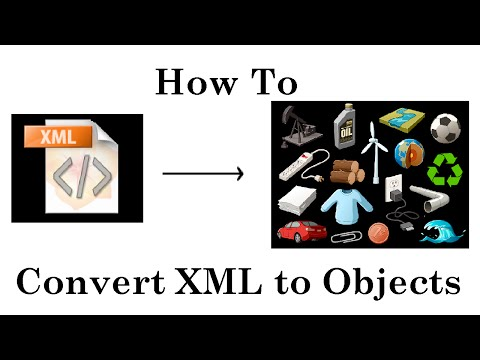 How to convert XML to Objects