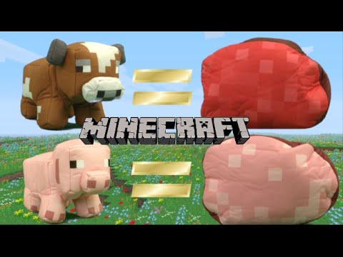 Minecraft Animal Plush from Mattel