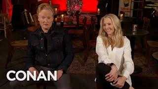 Conan & Lisa Kudrow Visit The Theater Where They Met - CONAN on TBS