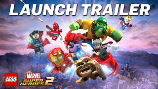 LEGO® MARVEL SUPER HEROES 2 Launch Trailer