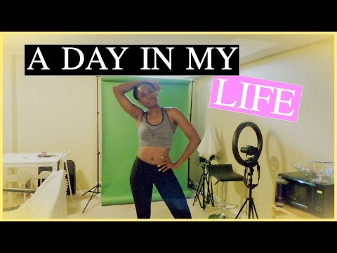A Day in My Life| At Home Workout