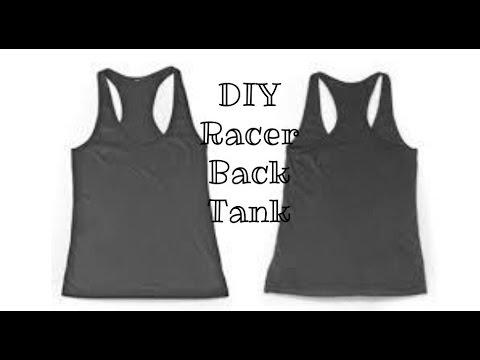 DIY Super Easy Racerback Tanktop