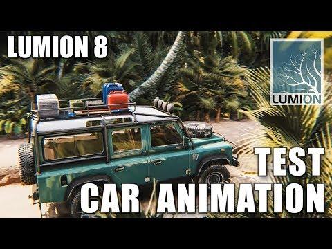ANIMATION CAR - LUMION 8