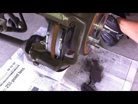 Tutorial: How to change rear brake pads on a 2008 Honda Accord