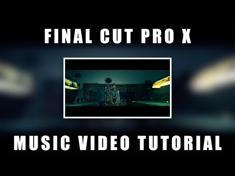Final Cut Pro X FCPX Tutorial -  Music Video Edit  (Shot w/ Panasonic GH4)