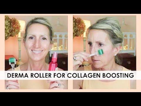 DERMA ROLLER FOR COLLAGEN BOOSTING! - GREAT FOR SKIN