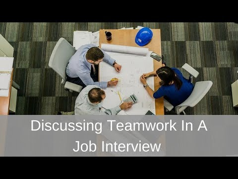Discussing Teamwork in a Job Interview by Michelle Tillis Lederman and About.com