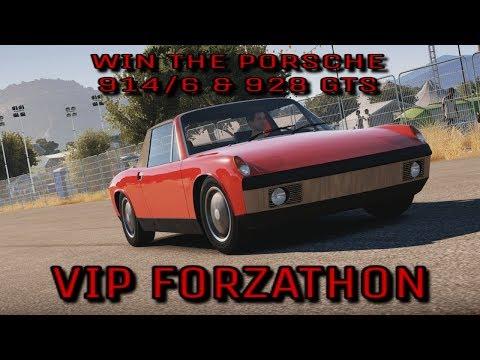 Forza Horizon 3 - VIP FORZATHON - Win the Porsche 914/6 & the Porsche 928 GTS a