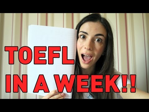 How to Study for TOEFL in 7 Days: Tips, Tricks and Things to Take With You