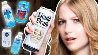 Ultimate CANNED Water Taste Test