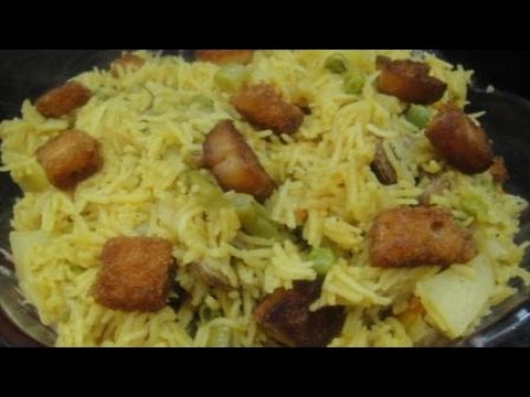 Special Veg Biriyani | With Fried Bread | Diwali Spl | Recipe | English Subtitles | Gowri Samayal