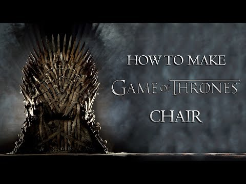 Game of Thrones Chair DIY