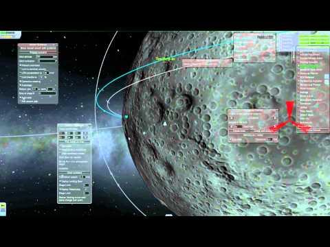 Kerbal Space Program Tutorial: Orbit verlegen und Landung auf Mun mit Mechjeb