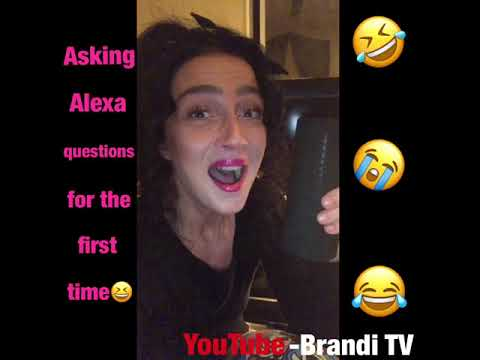 Asking Alexa questions for the first time