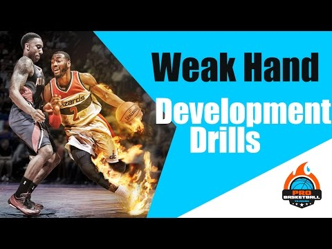 How To Improve Your Weak Hand   Dribbling & Shooting Drills