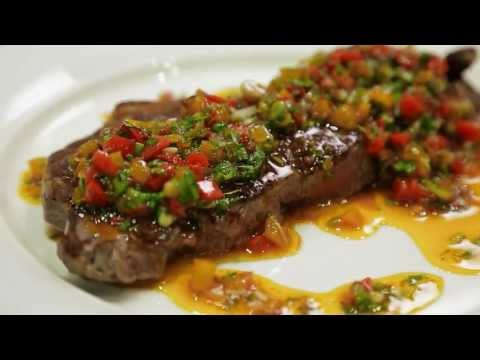 Delicious Steak Sauces -- Peppercorn & Chimichurri